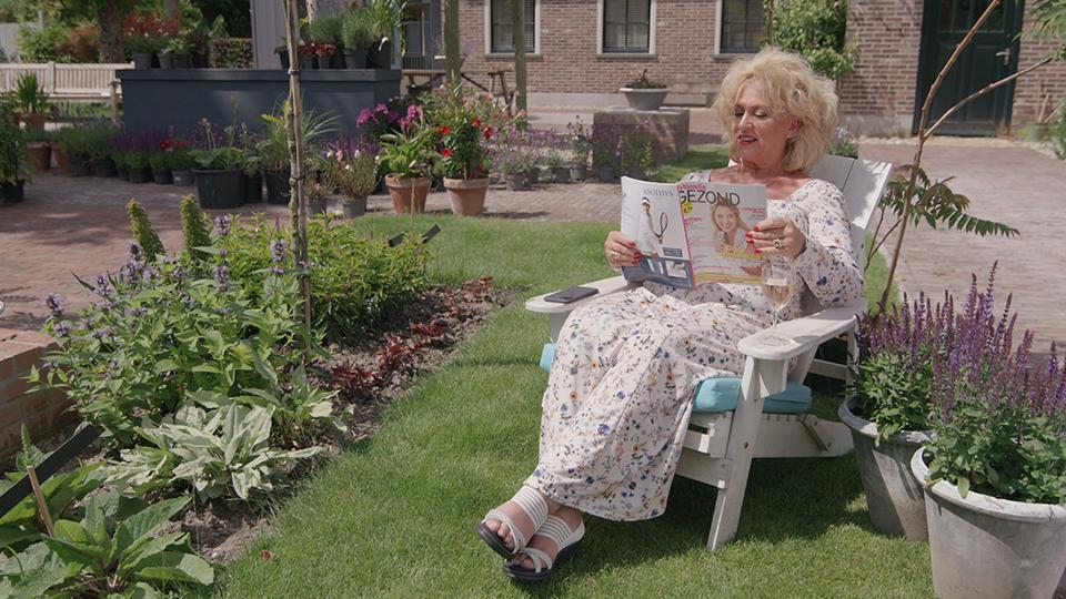 'Troost in mijn tuin…'